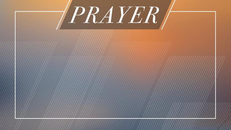 Morning of Prayer - Online