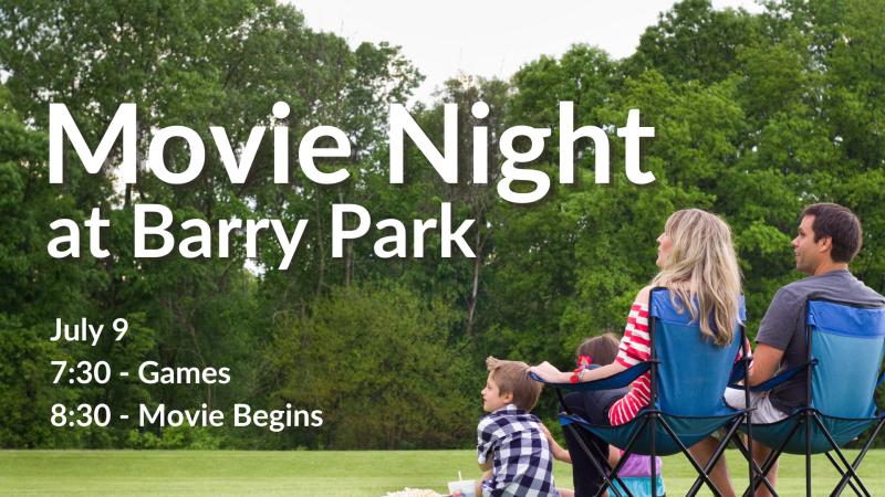 Movie Night at Barry Park